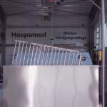 Stikkenwagenreinigungsanlage von Hospamed